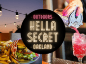 "Sun 5p Show - ""HellaSecret"" Outdoor Comedy Show & Cocktail Night (Oakland)"