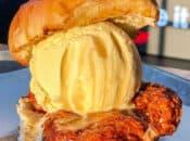 Iniburger's New Nashville Hot Chicken & Ice Cream Sandwich