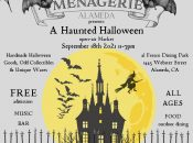 "Alameda's Official ""Haunted Halloween"" Open Air Market (The Menagerie)"