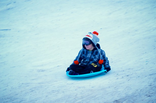 2018 Winter Wonderland Snow Sledding Amp Parade Of Lights