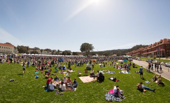 Presidio Picnic Off The Grids Sunday Food Truck Party Sf