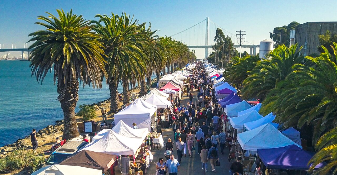 Treasure Island Flea: 400+ Vendors, Food Trucks   SF