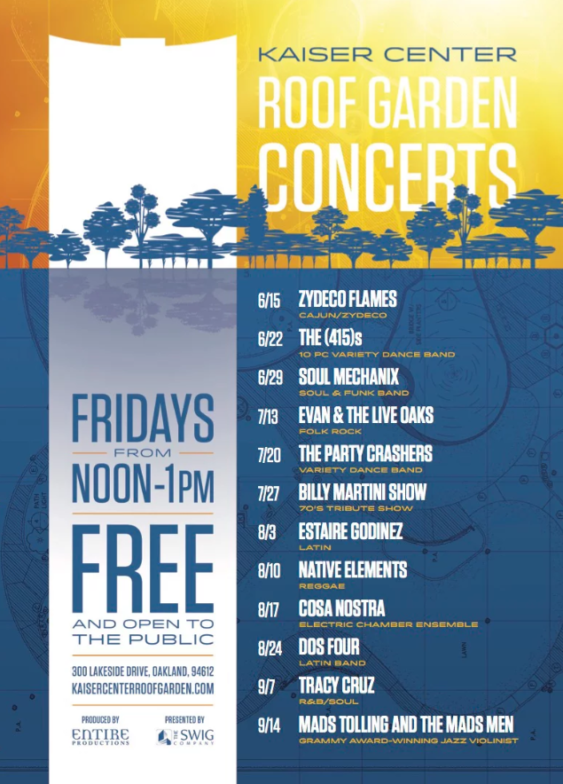 Kaiser Center Roof Garden Concert