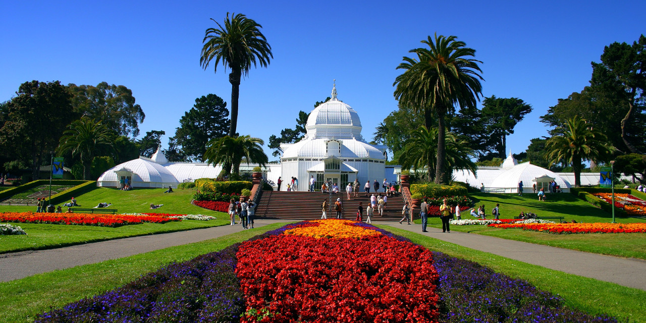 Conservatory of flowers free admission day gg park izmirmasajfo