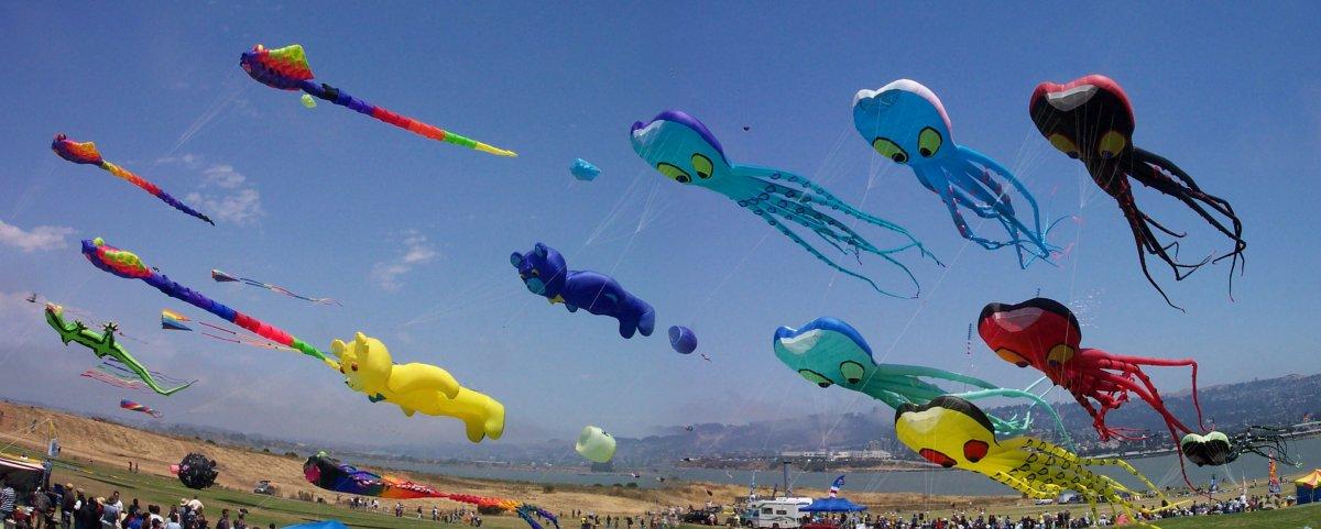 Free Cheap Sf >> 2018 Berkeley Kite Festival & Championships | July 28-29 | Funcheap
