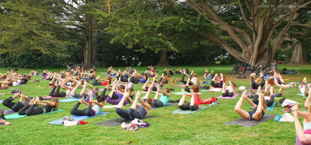 Free Outdoor Yoga Day Golden Gate Park