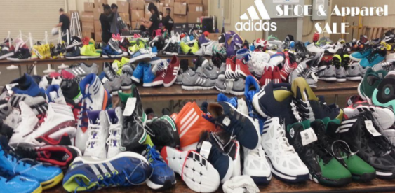 Adidas Giant Summer Warehouse Sale at Cow Palace | 2019
