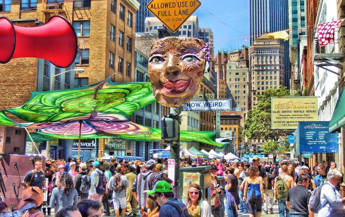 2018 How Weird Street Faire & Parade | SoMa