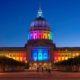 SF City Hall's Gorgeous Rainbow Lights: Pride 2019 | June 24-30