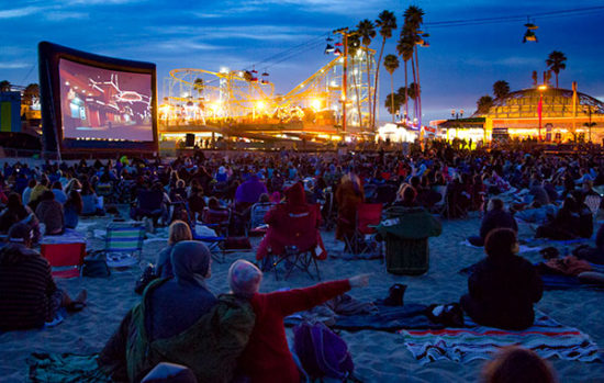 Movies on the beach santa cruz