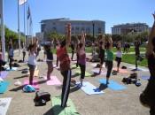 Free Outdoor Yoga Class | Pier 35