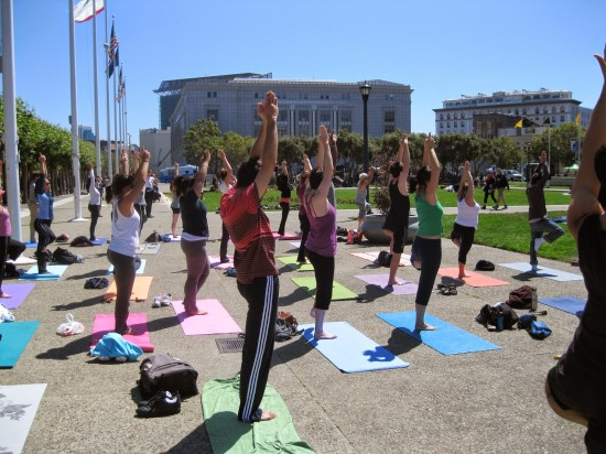 Free Outdoor Yoga Classes