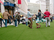 "Free Silent Disco at Union Square's ""Winter Walk"" Pop-up Plaza  