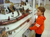 Final Day: Holiday Train Display | SF Main Libary