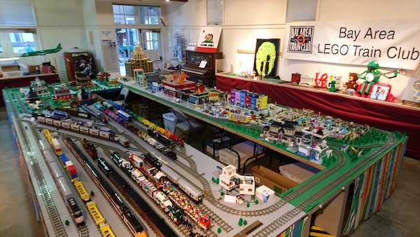 15th Annual Holiday Lego Show Opening Day Palo Alto