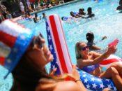 Milpitas | Red, White & Blue 4th of July Pool Party | 2018