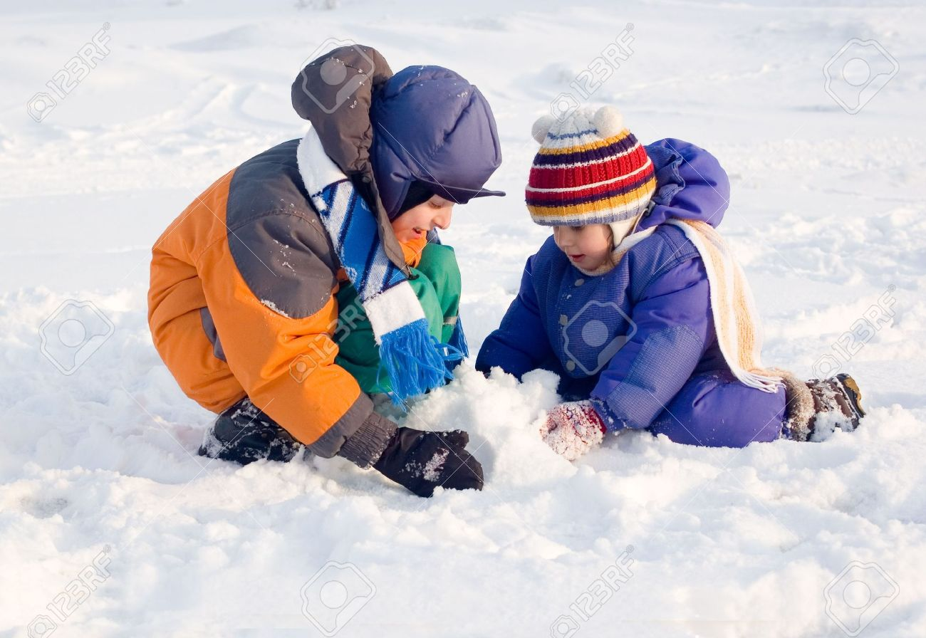 Kids Fun Winter