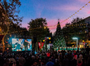 "2018 Santana Row 40-Foot Tree Lighting: Hello Kitty & ""Snowfall"" 