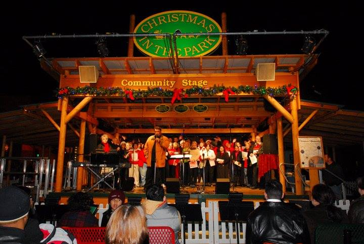 """Final Day: """"Christmas in the Park"""" 
