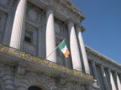 2019 St. Patrick's Kick-Off & Irish Flag Raising | SF City Hall