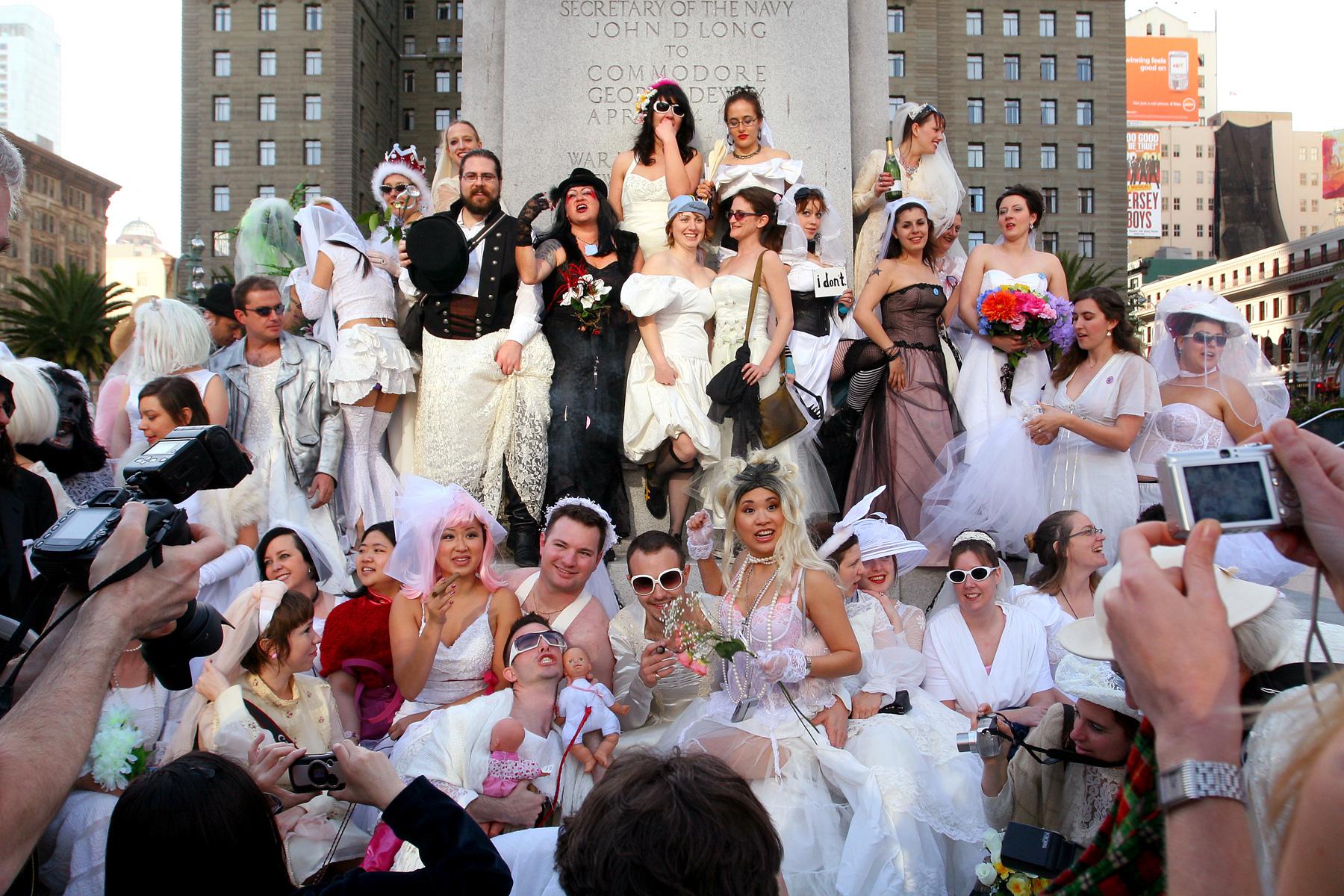 Brides Of March 2019 Wedding Dress Pub Crawl Sf