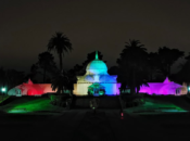SF's Conservatory of Flowers Lights Up for Pride | Golden Gate Park