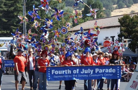 Sonoma traditional 4th of july parade celebration for Why is 4th of july celebrated