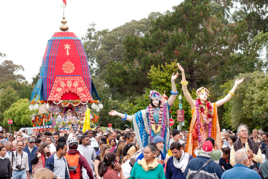 Festival of Chariots in Golden Gate Park