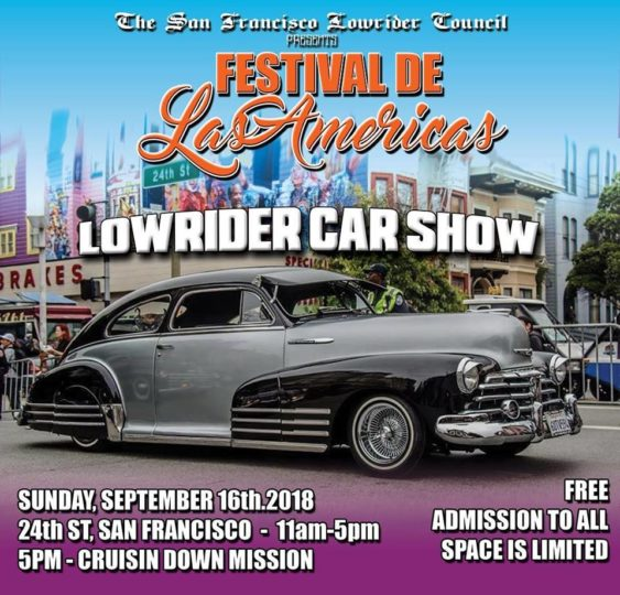 Sunday Epic Lowrider Cruise Live Music SF - Lowrider car show 2018