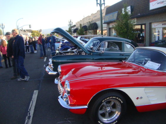 Park Street Classic Show Cars Oldies DJ Alameda - Classic show cars