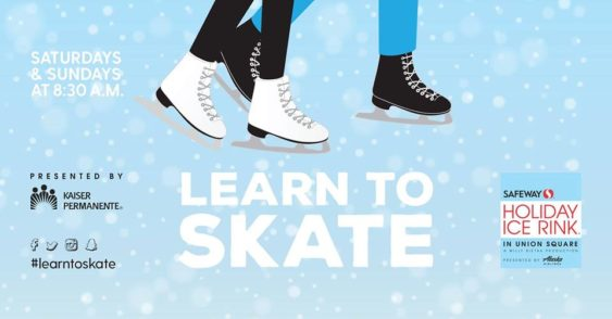 Free Union Square Ice Skating Lessons Every Weekend 2019 2020