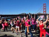 One Billion Rising 2017: Salsa Dance Across the Golden Gate Bridge | SF