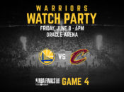 On Sale: Warriors' Massive Watch Party at Oracle: Game 7 | Oakland