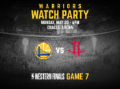 Warriors' Massive Watch Party at Oracle: Game 7 vs. Rockets | Oakland