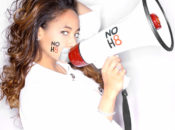 """NOH8"" Silent Photo Protest w/ Renowned Fashion Photogher Adam Bouska 