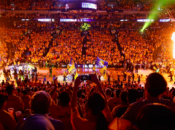 Warriors' Huge Oracle Arena NBA Finals Watch Party | Game 5