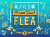 """""""Hawaii in July"""" Treasure Island Flea   SF"""