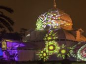 "The Final Night of ""Summer of Love"" Light Art in the Park 
