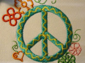 World Embroidery Day: Giant Peace Symbol Stitch-In   The Presidio
