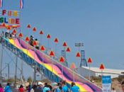 2019 Free Circus Festival, Games & 100 Foot Giant Slide | Hunters Point