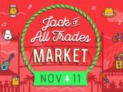 """Jack of All Trades"" Holiday Market & Free Santa Selfies | Jack London Square"