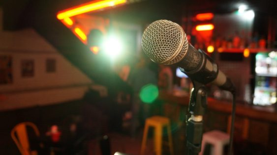Light microphone sing sound stage music show 3989883 563x316