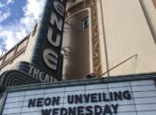 """Historic """"Avenue Theater"""" Neon Sign Unveiling   SF"""