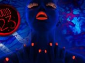 """Friday the 13th """"Glow-in-the-Dark"""" Black Light Art Show 
