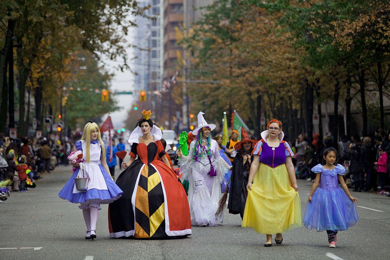 2018 moscone halloween parade  u0026 trick