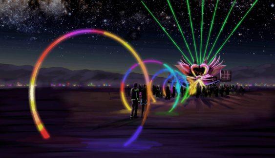 Burning Man Art Block Party Mutant Cars Djs Amp Fire
