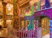 The Fairmont's 25-Foot Tall Gingerbread House Party | SF
