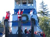 2018 Santa's Riverboat Arrival: Candy Canes, Hot Cocoa & Shopping | Petaluma