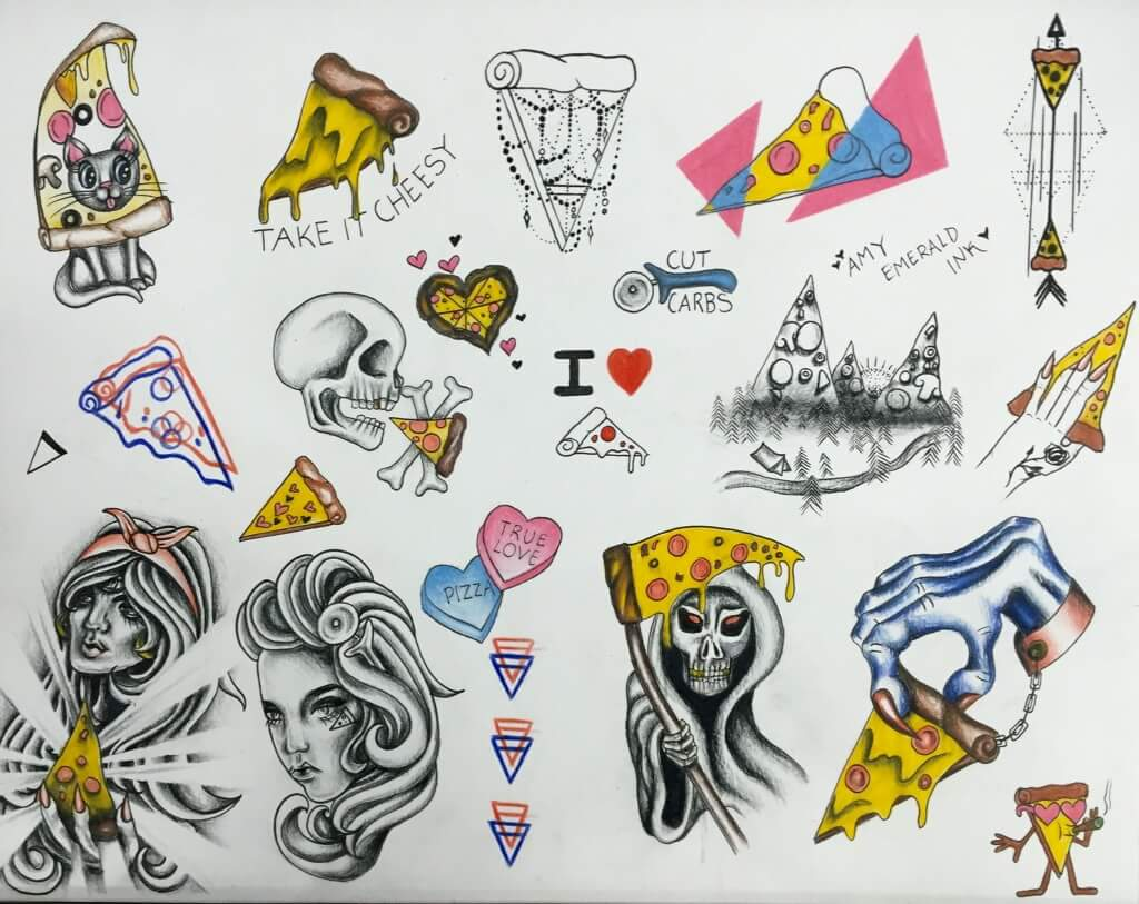 Pizza Party: Tattoos, Free Pizza & Discounted Piercings   Oakland