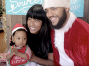 Family Pictures with Black Santa | Oakland